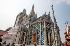 Het luxueuze koninklijke paleis van Bangkok Stock Foto