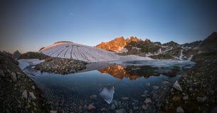 Het maanmeer Royalty-vrije Stock Foto's
