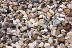 Het macadam van de steen royalty-vrije stock foto's