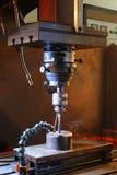 Het machinaal bewerken van metaal stock afbeeldingen