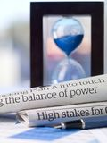 Het machtsevenwicht Stock Afbeeldingen