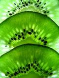 Het macro Fruit van de Kiwi Royalty-vrije Stock Fotografie