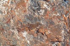 Het macro schieten van natuurlijke halfedelsteen De textuur van het minerale dolomiet royalty-vrije stock foto