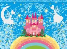 Het magische Kasteel van de Prinses van het Sprookje Royalty-vrije Stock Foto's