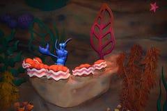 Het magische speelgoed van Koninkrijkswalt disney world - onder het overzees royalty-vrije stock foto
