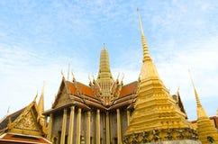 Het majestueuze Grote Paleis in Bangkok Stock Foto