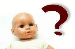Het maken van baby? Royalty-vrije Stock Foto's