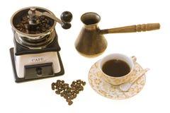 Het maken van de koffie Royalty-vrije Stock Afbeelding