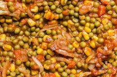 Het maken van de Pastei van Empanada Gallega Royalty-vrije Stock Afbeelding