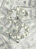 Het maken van een geld Stock Foto's
