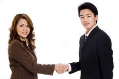 Het maken van een Overeenkomst Stock Foto's