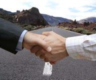 Het maken van een overeenkomst!! Royalty-vrije Stock Afbeeldingen