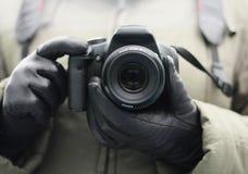 Het maken van foto's stock foto's