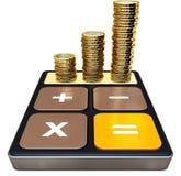 Het maken van geld Stock Foto
