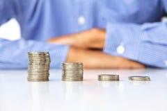 Het maken van geldconcept Stock Afbeeldingen