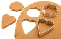 Het maken van koekjes Royalty-vrije Stock Afbeeldingen