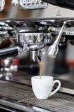Het maken van koffie Royalty-vrije Stock Fotografie
