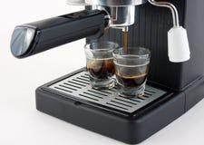 Het maken van Koffie Stock Afbeelding