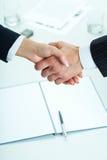 Het maken van overeenkomst Stock Foto's