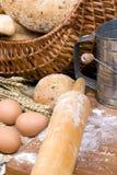 Het maken van Reeks 005 van het Brood Royalty-vrije Stock Foto's