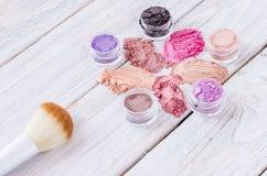 Het maken van schoonheidsmiddelen voor make-up Royalty-vrije Stock Afbeelding