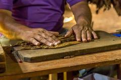 Het maken van sigaren in Vinales, Cuba #5/21 Royalty-vrije Stock Foto
