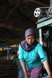Het maken van Sohun in de plaats Kroya Royalty-vrije Stock Afbeelding