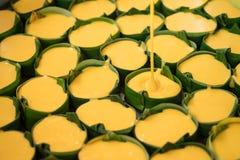 Het maken van toddy palmcake Royalty-vrije Stock Afbeelding