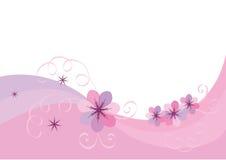Het maken van uw bloemen en krullen Stock Foto