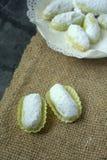Het Maleise traditionele dessert van Kuihmakmur- tijdens eid Royalty-vrije Stock Foto's