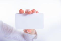 Het malplaatje van de adreskaartjevoorproef Stock Foto's