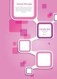 Het Malplaatje van de brochure Royalty-vrije Stock Foto