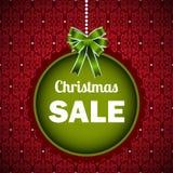 Het malplaatje van de Kerstmisverkoop  Stock Afbeelding