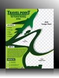Het Malplaatje van de reisvlieger Royalty-vrije Stock Foto