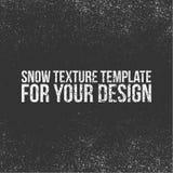 Het Malplaatje van de sneeuwtextuur voor Uw Ontwerp royalty-vrije illustratie