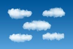 Het malplaatje van de wolkendienst Stock Fotografie