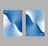 Het malplaatje van het dekkingsontwerp, abstracte gradiëntachtergrond Royalty-vrije Stock Foto's