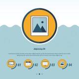 Het Malplaatje van het gegevensverwerkingsConceptontwerp Royalty-vrije Stock Foto's