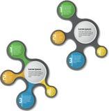 Het malplaatje van het Infographicontwerp royalty-vrije illustratie