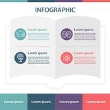 Het malplaatje van het Infographicontwerp Royalty-vrije Stock Foto