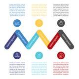 Het malplaatje van het Infographicontwerp Royalty-vrije Stock Afbeelding