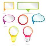Het malplaatje van het Infographicontwerp kan voor werkschemalay-out, diagram, aantalopties, Webontwerp worden gebruikt Infograph Stock Fotografie