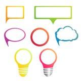 Het malplaatje van het Infographicontwerp kan voor werkschemalay-out, diagram, aantalopties, Webontwerp worden gebruikt Infograph Stock Foto's