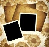 Het malplaatje van het plakboek Royalty-vrije Stock Foto