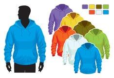 Het malplaatje van het sweatshirt Stock Fotografie