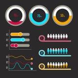 Het Malplaatje van Infographic Royalty-vrije Stock Fotografie