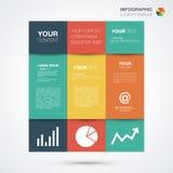Het Malplaatje van Infographic royalty-vrije illustratie