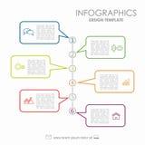 Het Malplaatje van Infographic kan voor werkschemalay-out, diagram, bedrijfsstapopties, banner, Webontwerp worden gebruikt Royalty-vrije Stock Foto