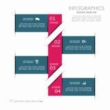 Het Malplaatje van Infographic kan voor werkschemalay-out, diagram, bedrijfsstapopties, banner, Webontwerp worden gebruikt Royalty-vrije Stock Afbeeldingen