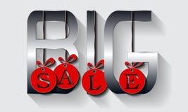 Het malplaatjeontwerp van de verkoopbanner, Grote verkoopspeciale aanbieding stock fotografie